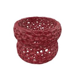 39590f7d4a96408c3a5b2bfced209ecd.png Download STL file Arm Bracelet Voronoi V2 • 3D print template, FraGar