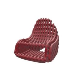 421d4fdac785a87dbdaf6dce1863df9d.png Télécharger fichier STL Organic_Chair_Smal_3_mm • Modèle pour impression 3D, FraGar