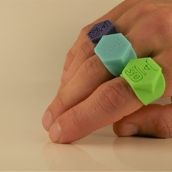 P1030814.JPG Download STL file 3D printed ring • 3D printable template, DenStasis