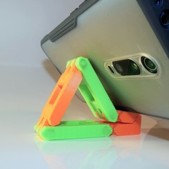 P1040080.JPG Download free STL file Phone holder • 3D printer object, DenStasis