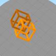 Download free 3D printing files Cube, hypercube, DenStasis