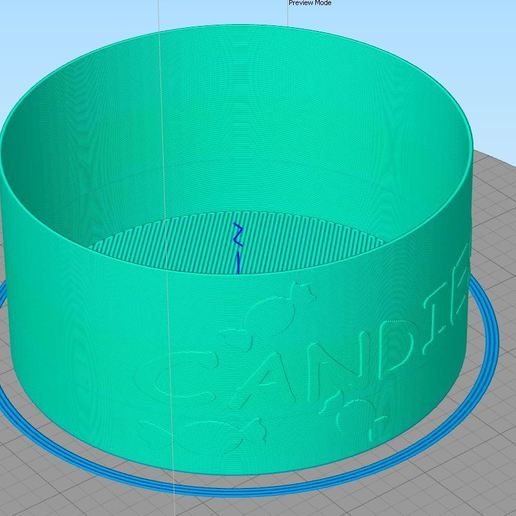 Снимок.JPG Download free STL file Candy Vase • 3D printer design, DenStasis