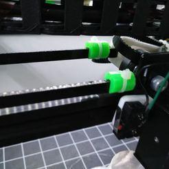 Télécharger fichier imprimante 3D gratuit GT2 clips de ceinture simples pour les fermetures à glissière, suromark