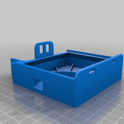 HepaBox.png Download free STL file Mini HEPA Filter Box • 3D print template, suromark