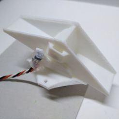 Télécharger modèle 3D gratuit Pluviomètre à godet basculant pour tuyau HT DN 110, suromark