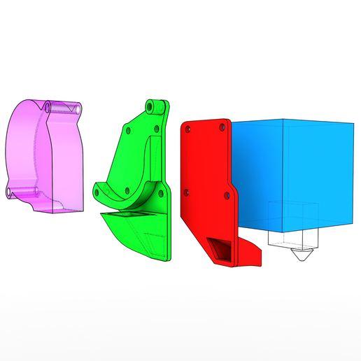 img1.jpg Télécharger fichier STL gratuit YaVoFaDu - Encore un conduit de ventilateur de volcan pour le TronXY X5S • Design pour impression 3D, suromark