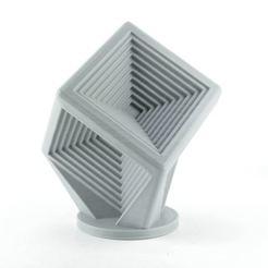 Descargar diseños 3D gratis Cubo menos Cubos, suromark