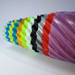 Download free 3D printer model Spiral vases Matroshka style, suromark