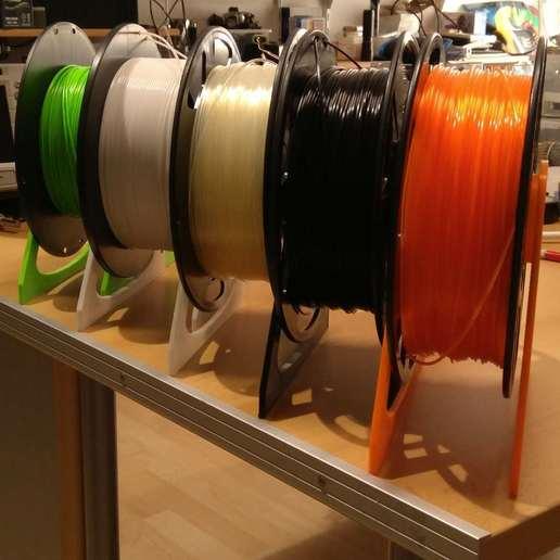 Télécharger STL gratuit Support de bobine de filament, suromark