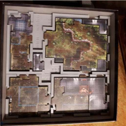 Download free STL files Imperial Assault: Jabba's Realm - Map Tile Organizer, nickgrawburg