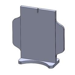 Descargar modelos 3D gratis Plantilla de la silueta de la Legión de la Guerra de las Galaxias., nickgrawburg