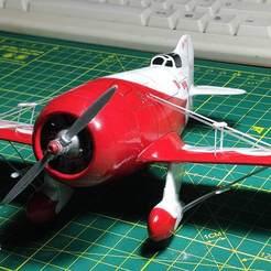 Imprimir en 3D Gee Bee R2 Golden Age Air Racer, ferandroid