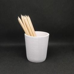 Télécharger plan imprimante 3D gatuit Récipient à crayons, Carbo6