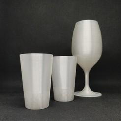CupandShot_1.jpg Download STL file Wine tasting glass and shot • Model to 3D print, Carbo6