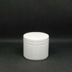 Circular Storage Box 01.jpg Télécharger fichier STL Petite boîte de rangement circulaire • Modèle à imprimer en 3D, Carbo6