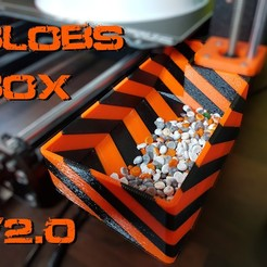 BlobsBox2.jpg Télécharger fichier STL gratuit Blobs Box V2.0 - Seau de purge latéral pour Prusa i3 MK3s • Objet à imprimer en 3D, Dragon2781