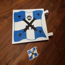 Download free STL file LEGO Imperial Flag (Multi Color), Dragon2781