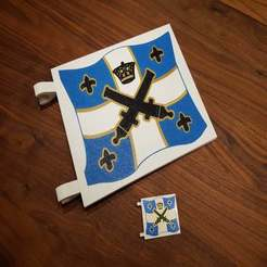 Download free 3D printing designs LEGO Imperial Flag 2015 (Multi Color), Dragon2781