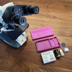 20200823_093058.jpg Download free STL file Microscope Slides Box • 3D printing object, Dragon2781