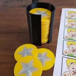 Descargar archivo 3D gratis Level Coins - Recompensar la educación de los niños, Dragon2781