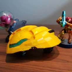 Télécharger plan imprimante 3D gatuit Samus Gunship (Metroid), Dragon2781