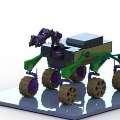 Download free 3D printing files RC MARS Rover Mk II, mochr