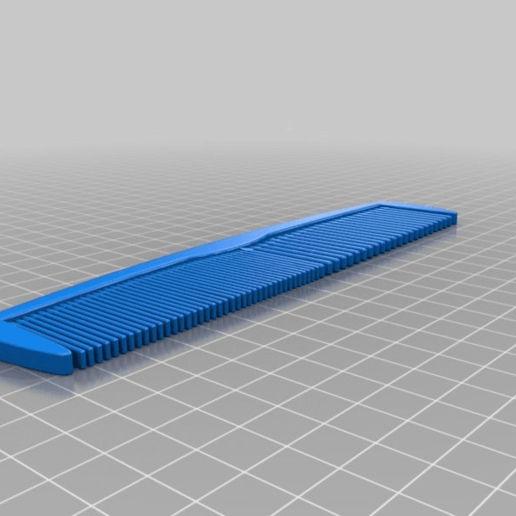 Download free STL files Hair comb with two sizes., Ragkov
