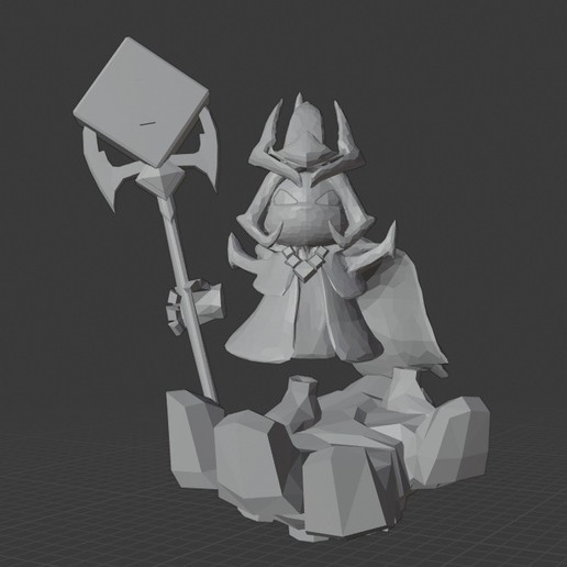 Download free 3D printer model Final Boss Veigar- League of Legends, Ragkov