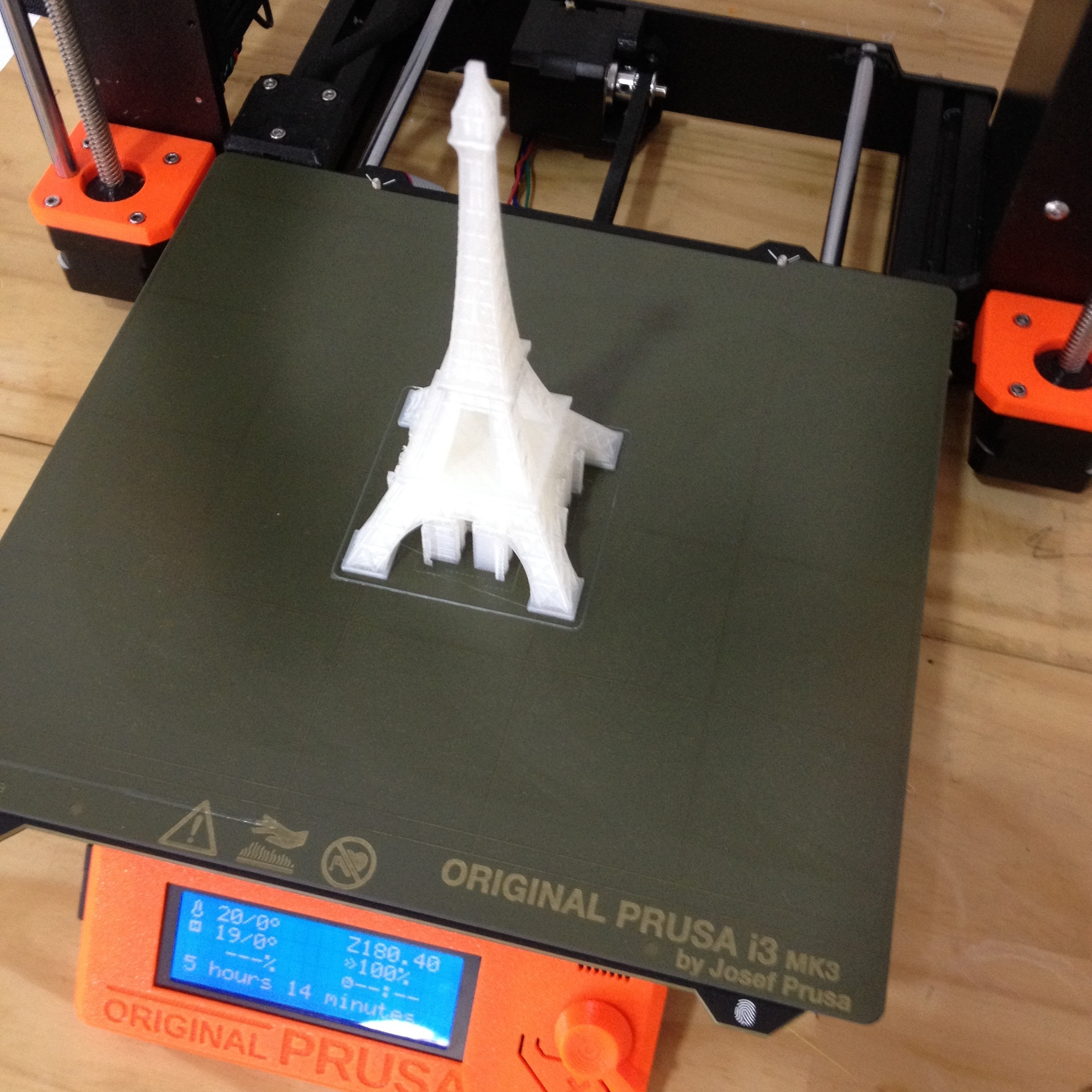 IMG_2032.JPG Download free STL file Eiffel Tower | 150mm | FFF (FDM) • 3D print template, ATIXFormas3D