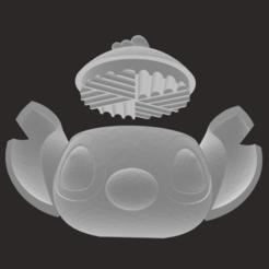 Download 3D printer files STITCH GRINDER - MODEL N2, camilatroisi555
