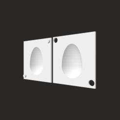 Descargar archivo STL Molde para Huevos de Pascua  • Diseño para la impresora 3D, camilatroisi555