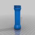 Download free STL file Flashlight body for LED/reflector drop-in module • 3D printer object, LarryG