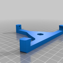Imprimir en 3D gratis Agarrador de trípode de la cámara de la Grieta del Óculo, LarryG