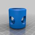 e9d0a8118ce277ca4302ca2d9c96d3f6.png Télécharger fichier STL gratuit Corps de lampe de poche pour module LED/réflecteur V2 • Design à imprimer en 3D, LarryG
