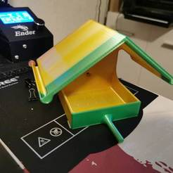 Download free 3D printing files Bird fat ball house feeder, zitoune83