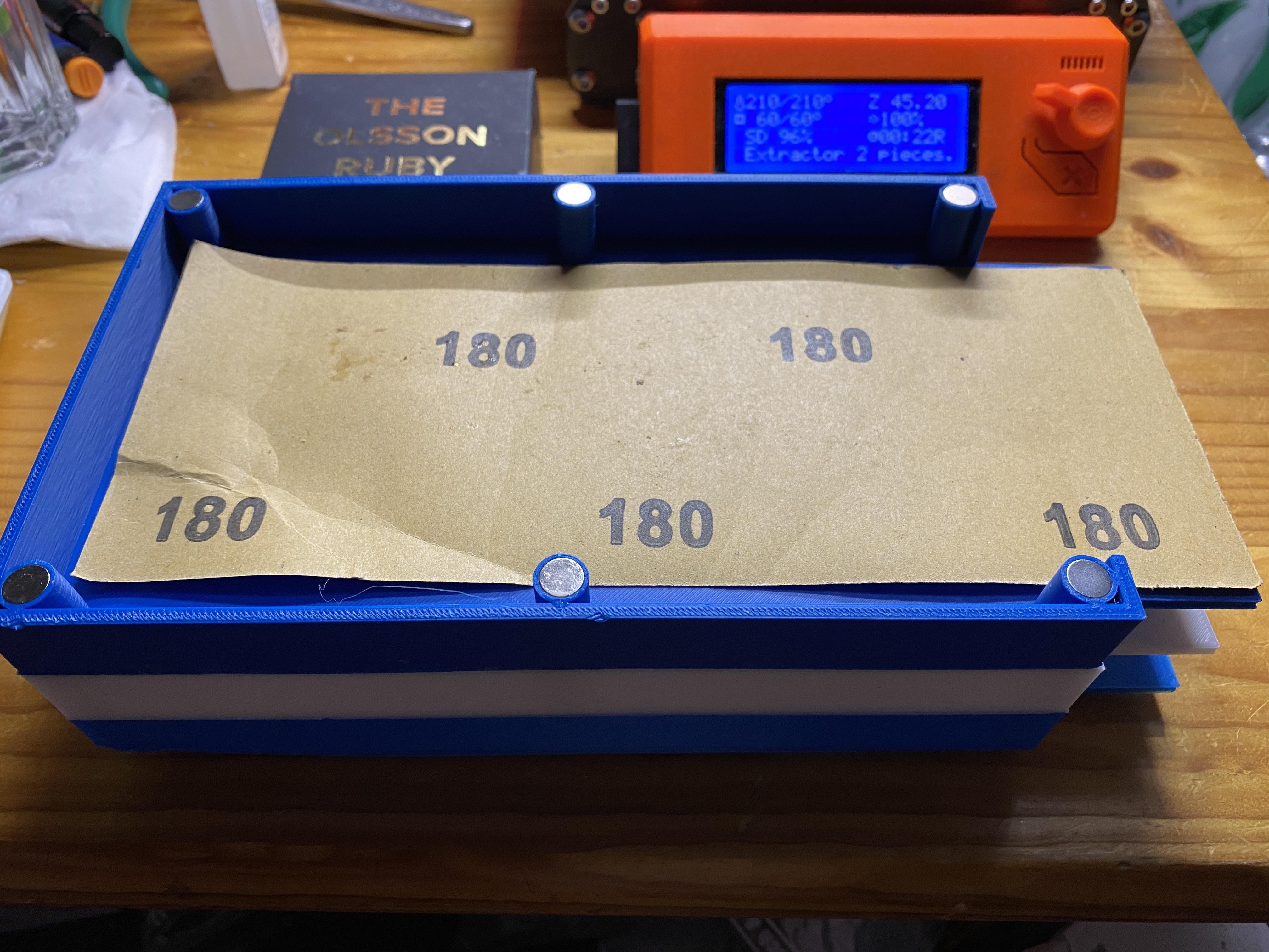 IMG_0373.JPG Télécharger fichier STL gratuit Porte-papier de verre • Design pour imprimante 3D, christinewhybrow