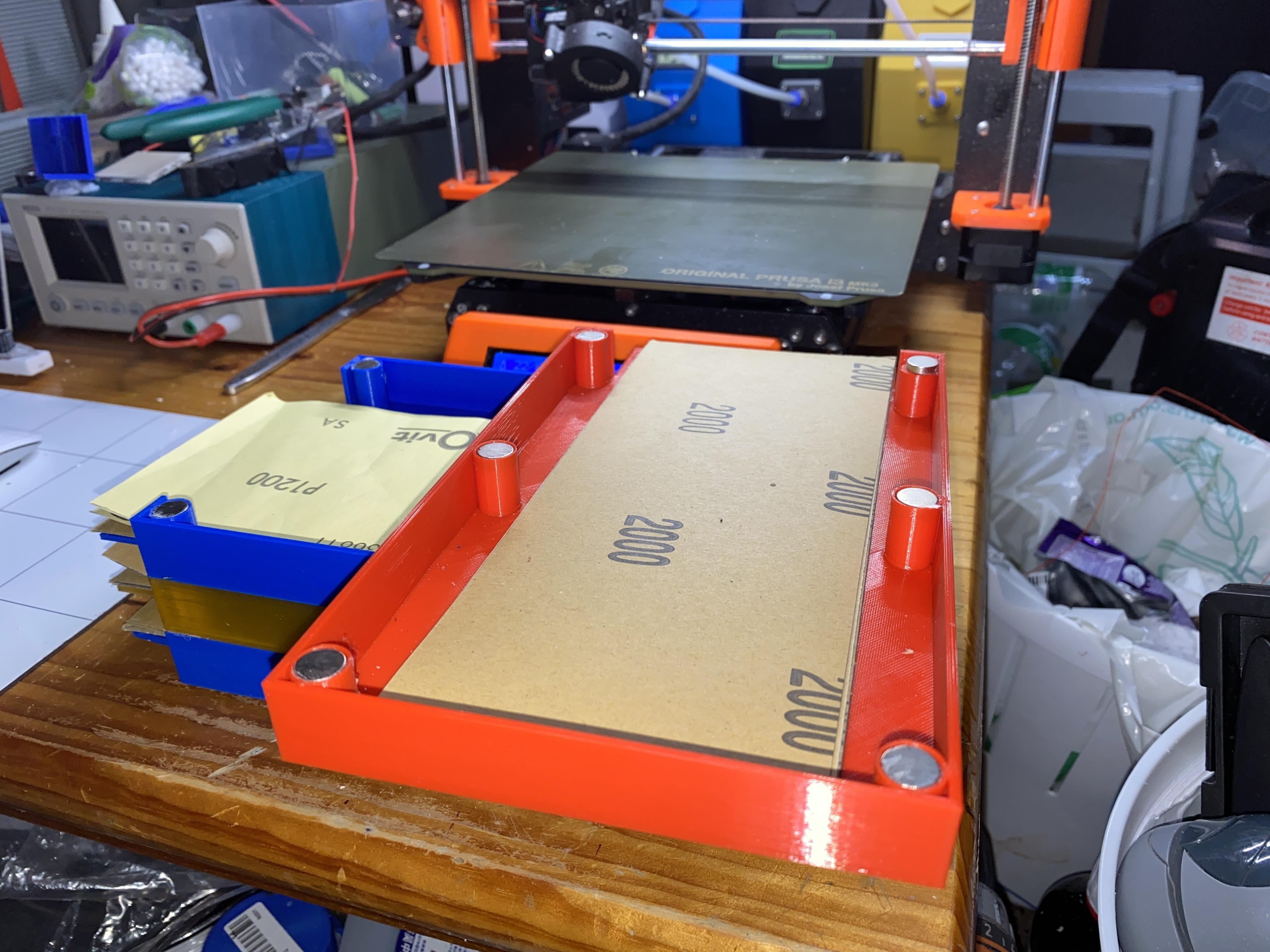 IMG_0453.JPG Télécharger fichier GCODE gratuit Porte-papier de verre avec aimants • Modèle pour imprimante 3D, christinewhybrow