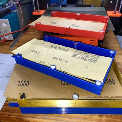IMG_0455.JPG Télécharger fichier GCODE gratuit Porte-papier de verre avec aimants • Modèle pour imprimante 3D, christinewhybrow