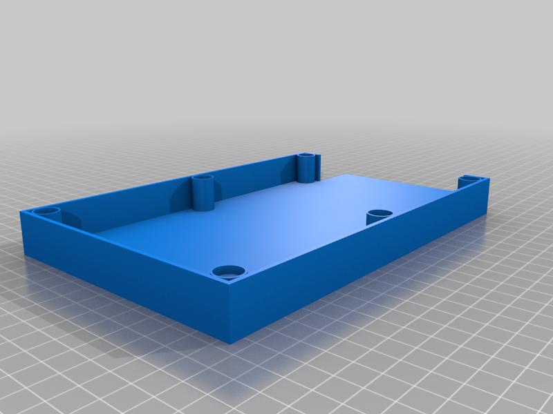 Sandpaper_Holder_with_Magnets_FINAL.png Télécharger fichier GCODE gratuit Porte-papier de verre avec aimants • Modèle pour imprimante 3D, christinewhybrow