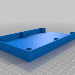 Download free GCODE file Sandpaper Holder with Magnets • 3D printer template, christinewhybrow