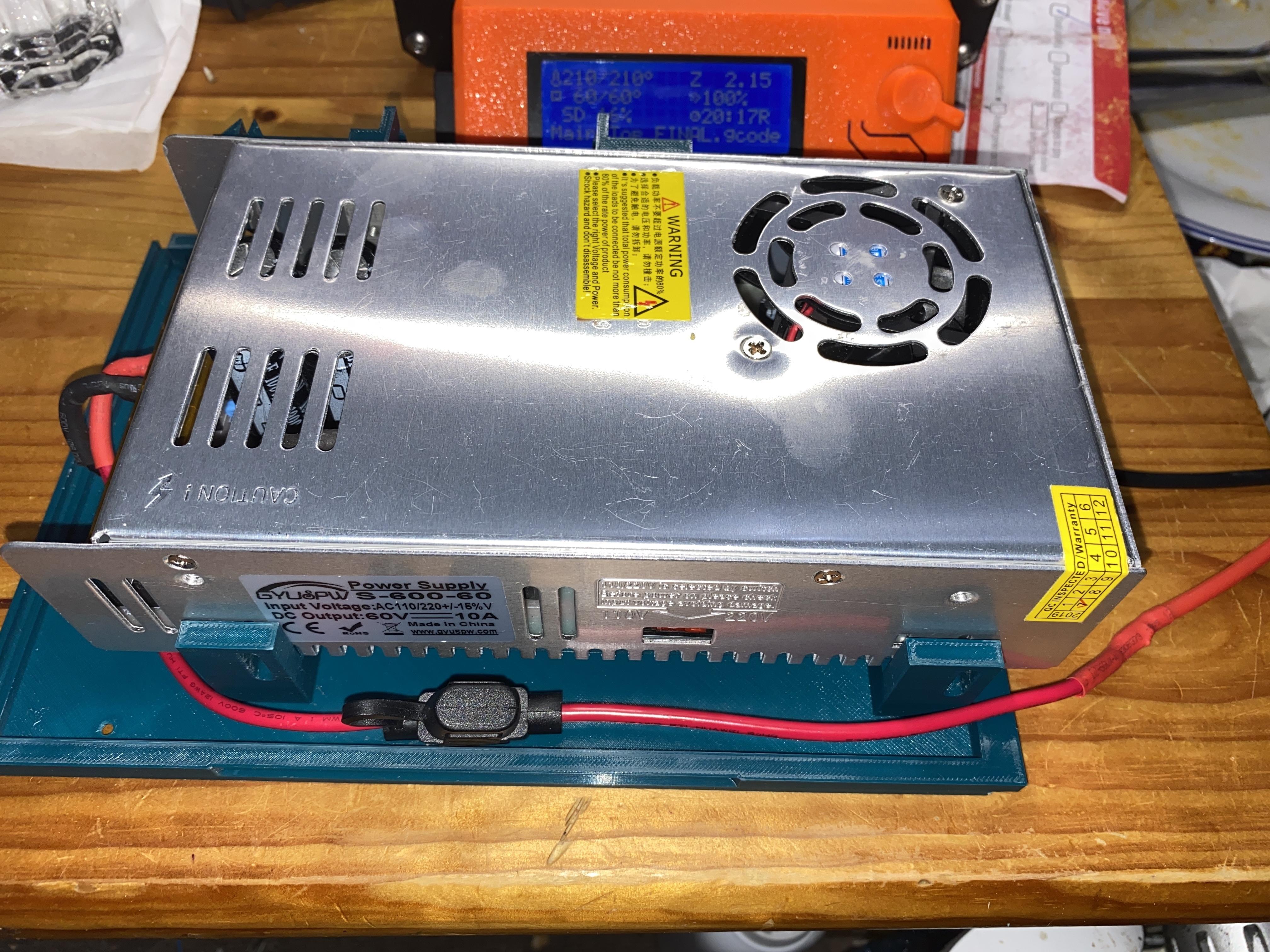 IMG_0413.JPG Télécharger fichier STL gratuit Affaire Riden RD6006 sur l'alimentation électrique • Objet imprimable en 3D, christinewhybrow