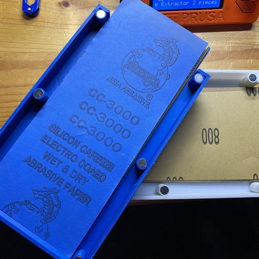 IMG_0374.JPG Télécharger fichier STL gratuit Porte-papier de verre • Design pour imprimante 3D, christinewhybrow