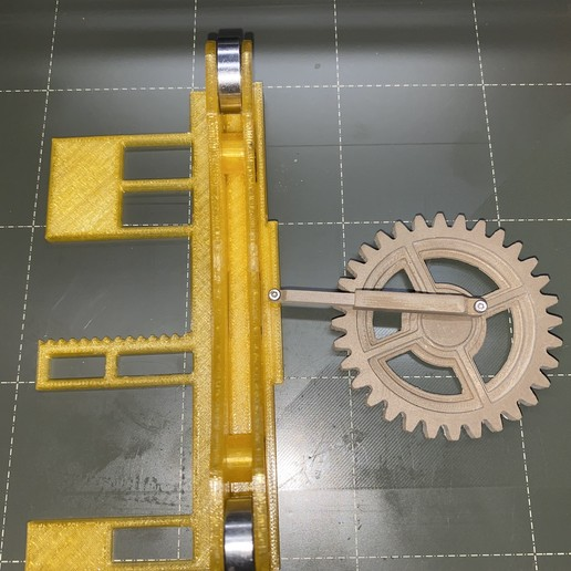 Large_Gear_Connecting_Rod_and_Right_Slider.JPG Download free STL file Gear Driven Adjustable TUSH • 3D printing model, christinewhybrow