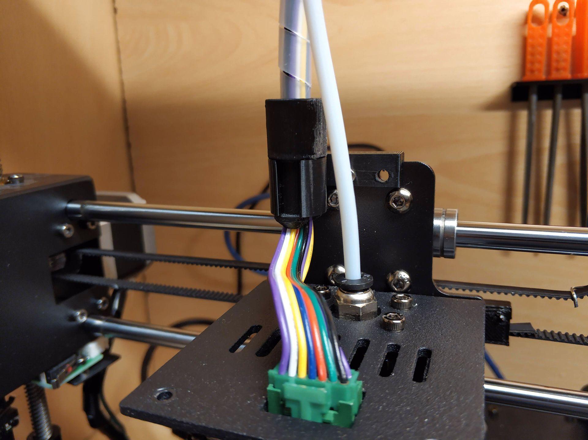 IMG_20200118_185109.jpg Download free STL file Anycubic i3 mega - Sostegno cablaggio estrusore • 3D printing template, Scigola