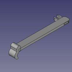 Télécharger plan imprimante 3D gatuit AlfawiseU30 - Maniglia piatto, Scigola