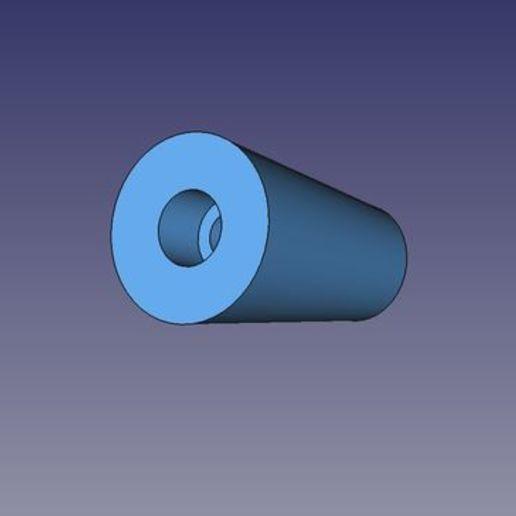 distanziale.jpg Télécharger fichier STL gratuit Sopperto VESA par moniteur ou télévision • Design pour imprimante 3D, Scigola