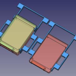 Download free 3D printing models Adattatore per dischi hdd, Scigola