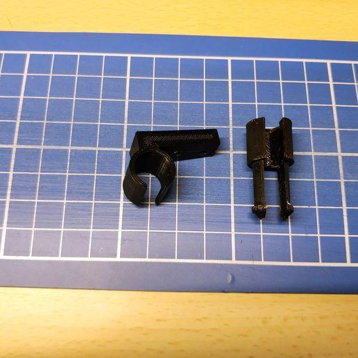 IMG_20200118_150342.jpg Download free STL file Anycubic i3 mega - Sostegno cablaggio estrusore • 3D printing template, Scigola