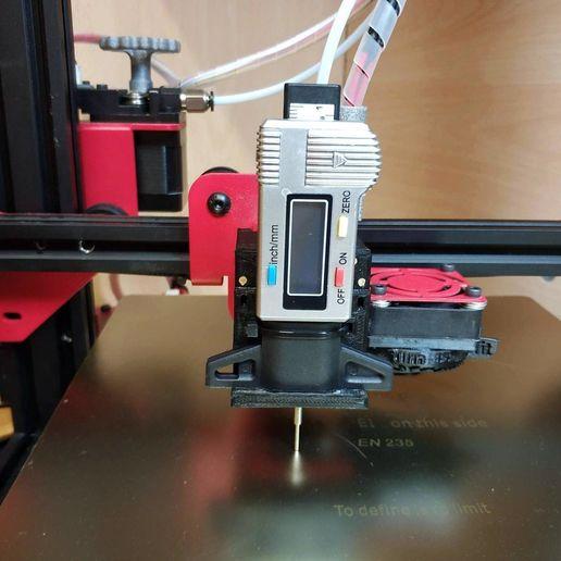 Télécharger fichier STL gratuit Alfawise U30 - Comparateur de calibres par battitures • Objet pour impression 3D, Scigola