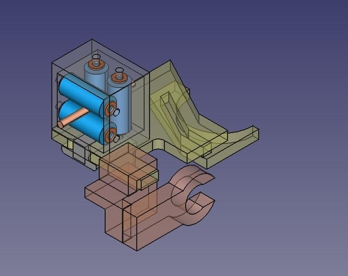 Guida_con_fermaguaina_removibile_01.jpg Download free STL file Alfawise U30 - Guida filamento • 3D printable object, Scigola